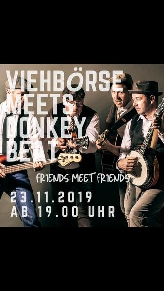 Bild Viehbörse meets Donkey Beat - friends meet friends